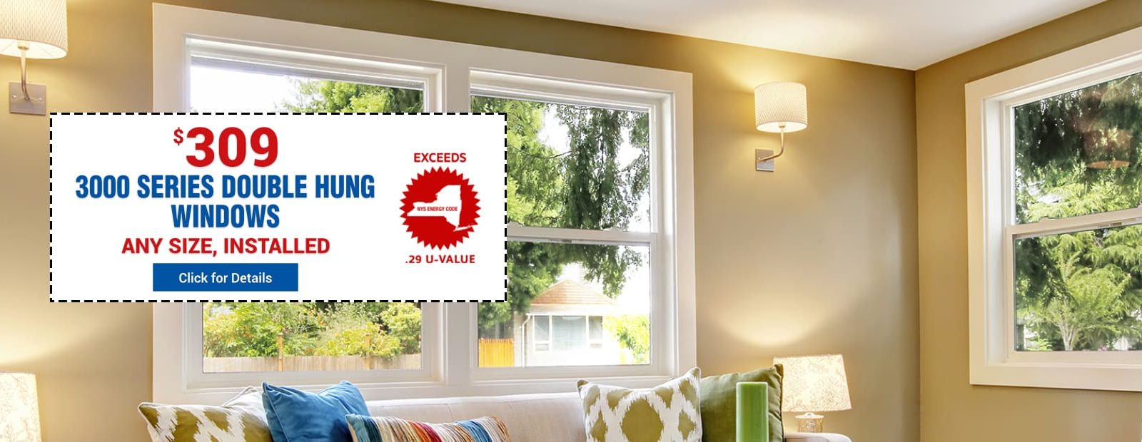 3000 Series Double Hung Windows - Offer Price