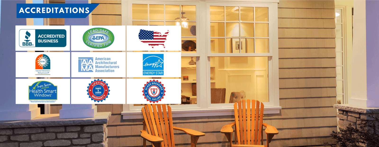 Accreditations - Window Town of Southern Tier